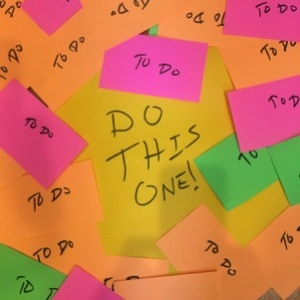 Overcoming Overwhelm: Choose Inches Or Miles
